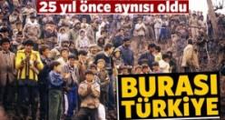 Iraklı kürtler 25 yıl önce aynısını yaşamıştı