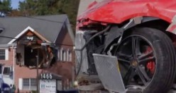 Lüks Porsche ile böyle bir kaza görülmedi 2 ölü!