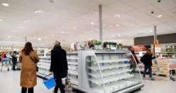 Dünyada koronavirüs paniği: Marketlerde raflar bomboş kalıyor