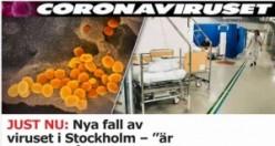 İsveç'te daha fazla vaka bekleniyor! Yeni sayı 203