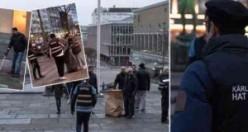 İsveç'te yılbaşı çöplerini Müslüman gençler temizledi