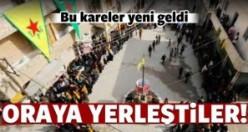 PKK'lı teröristler Halep'e yerleşti!