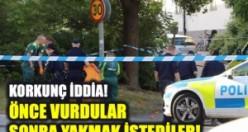 Hässelby'de silahlı saldırı ve patlama bir kişi öldü