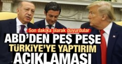ABD'den peş peşe Türkiye'ye yaptırım açıklaması
