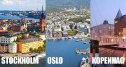 Yüksek maaş almak isteyenlerin gitmesi gereken yerler - Stockholm - Oslo - Kopenhag listede
