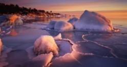 İsveç'in en güzel kış manzaraları