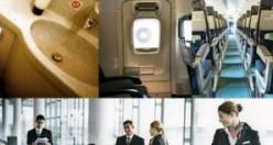 Uçaklarda bunlara dokunmayın!