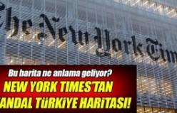 New York Times'ın skandal haritası!