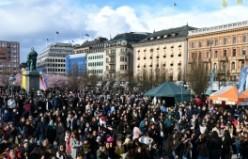 Stockholm'de 23 Nisan Böyle Kutlandı