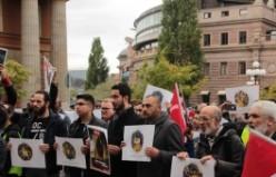 Arakan'daki Müslümanlara uygulanan katliam İsveç'te protesto edildi...