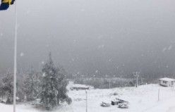 İsveç'e son 20 yılın en erken kışı geldi