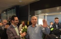 İsveç'te Hacılar Böyle Karşılandı