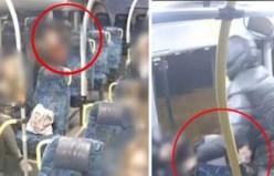 Stockholm otobüslerinde genç kadınları hedef alan kapkaçının görüntüleri yayınlandı