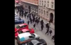 Malmö'de polisle taraftar böyle çatıştı