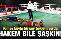 Dünyanın en ilginç boks maçı kayıtlara böyle geçti