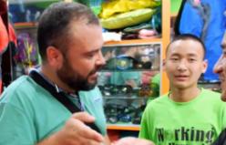 Güney Asya'da bir Konya'lı Pazarlık yapars