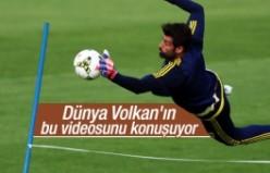 Dünya, Volkan Demirel'in antrenman videosunu konuşuyor