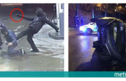 Stockholm'de silahlı kişiler otomobili böyle kaçırıyor