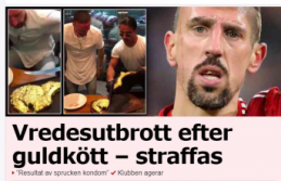 Bir et yemeğine 12 bin kron verdi, onlarca küfür yedi