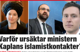 Mehmet Kaplan'ı öven İsveçli Bakan Linç ediliyor