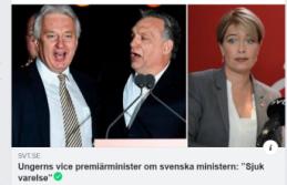 Macaristan'dan İsveçli Bakana çok ağır hakaret: 'Zavallı hasta yaratık''