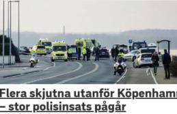 Danimarka'da silahlı saldırı!