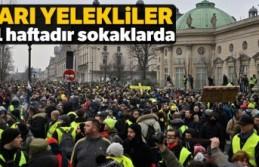 Sarı Yeleklilerin eylemleri 31'inci haftasında