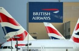 Dev havayolunda grev Tüm uçuşlar iptal edildi