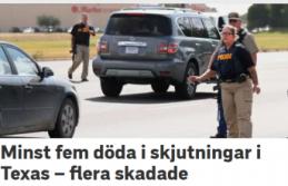 Silahlı saldırı:  en 5 kişi öldü 25 kişi yaralandı