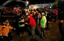 İstanbul'daki uçak kazasında bir kişi hayatını kaybetti