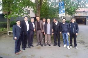 Abdullah Ağralı'nın İsveç'te 3. gün seçim çalışmaları