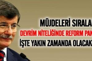 Başbakan tek tek açıkladı! İşte Türkiye'nin reform paketi