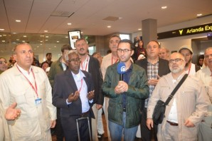 İsveç'teki Haccı adayları dualarla uğurlandı