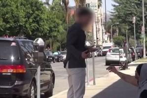 Sokaktaki dilenciye tam para verecekken şok oldular!..