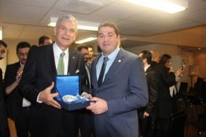 AB Bakanı Volkan Bozkır'ın UETD İsveç Ziyareti