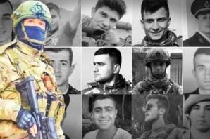 Suriye İdlib'de şehit olan 33 askerin isimleri ve memleketleri belli oldu