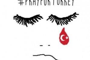 Dünya İstanbul için böyle dua etti