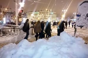 Götebog'de Kar Hayatı Durdurdu