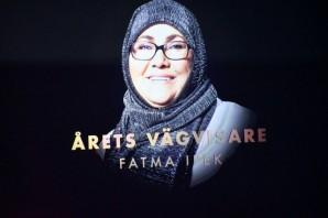 İsveç'te Yılın Kahramanı Ödülü 63 Yaşındaki Kululu Fatma Anne'ye Gitti