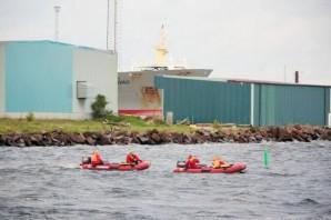 İsveç'te batan tekne araması