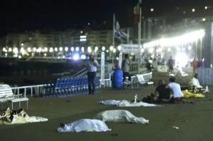 İşte Fransa'daki saldırının korkunç görüntüleri