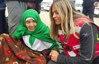 105 yaşında ki sığınmacının gitmek istediği...