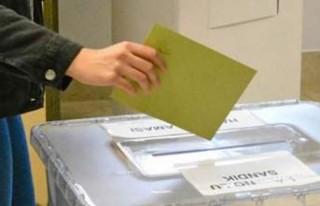 Türk seçmenler 5 kıta, 60 ülkedeki 123 temsilcilikte...