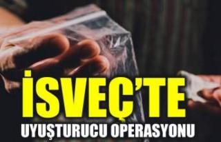 Upplands Väsby'de uyuşturucu kaçakçılarına...