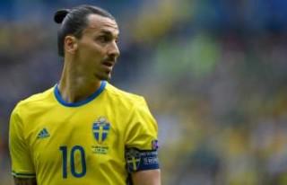 Zlatan Ibrahimovic, İsveç'in 2018 Dünya Kupası...