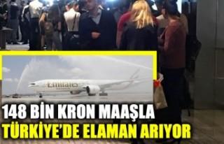 148 bin kron maaşla Türkiye'de eleman arıyor