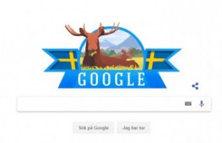 Google, İsveç'in ulusal gününü unutmadı