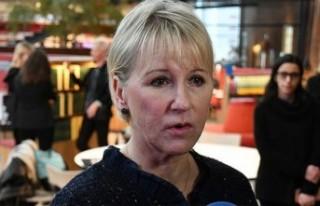 İsveç Dışişleri Bakanı Margot Wallström'dan...