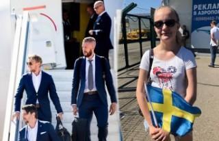 İsveç milli takımını Rusya'da tek kişi...