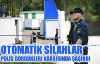 İsveç'te polis gördükleri karşısında şaşkına...